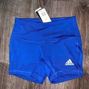 Brand new adidas compression shorts